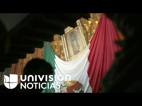 Miles de peregrinos se congregan en Ciudad de México para cantarle 'Las Mañanitas' a la Virgen