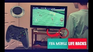 FIFA MOBILE LIFE HACKS!!!! (*helpful*) Joystick, Grip, HDMI & MORE! | FIFA Mobile 18/17 iOS | BGS