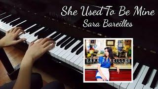 She Used To Be Mine (Sara Bareilles) [piano cover]
