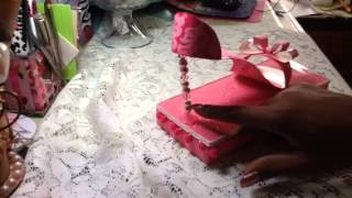 Project Share : Paper High Heel Shoe