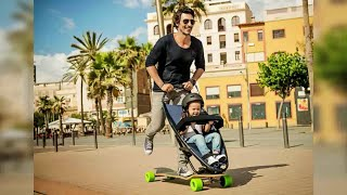 Un po' passeggino, un po' skateboard: arriva sul mercato europeo il rimedio per i genitori pigri