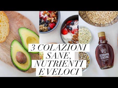 3 COLAZIONI SANE, NUTRIENTI E VELOCI   GRANOLA FATTA IN CASA