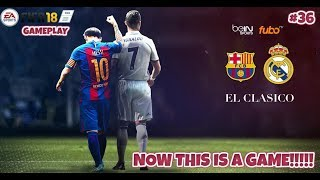 Not this time!!!!! [el clÁsico 2][world class][spanish commentary][la liga 17/18 #36][ps4]