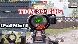 PUBG TDM Match World Record 39 Kills   iPad Mini 5   Best Pubg 39 Kills   Pubg world record 39 Kills