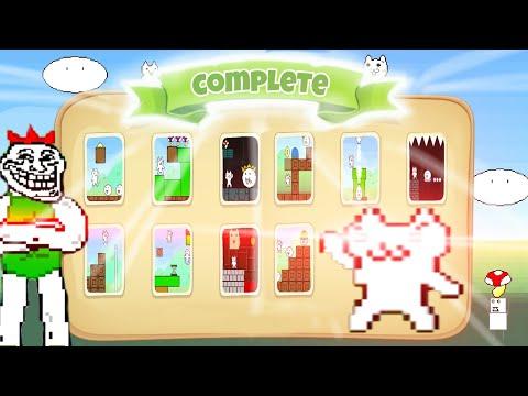 Cat Mario COMPLETE! 1-10 lvl (mobile version)