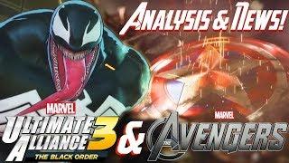 Marvel Ultimate Alliance 3 & The Avengers Project: Venom Fight ANALYSIS & Avengers NEWS SOON?!?