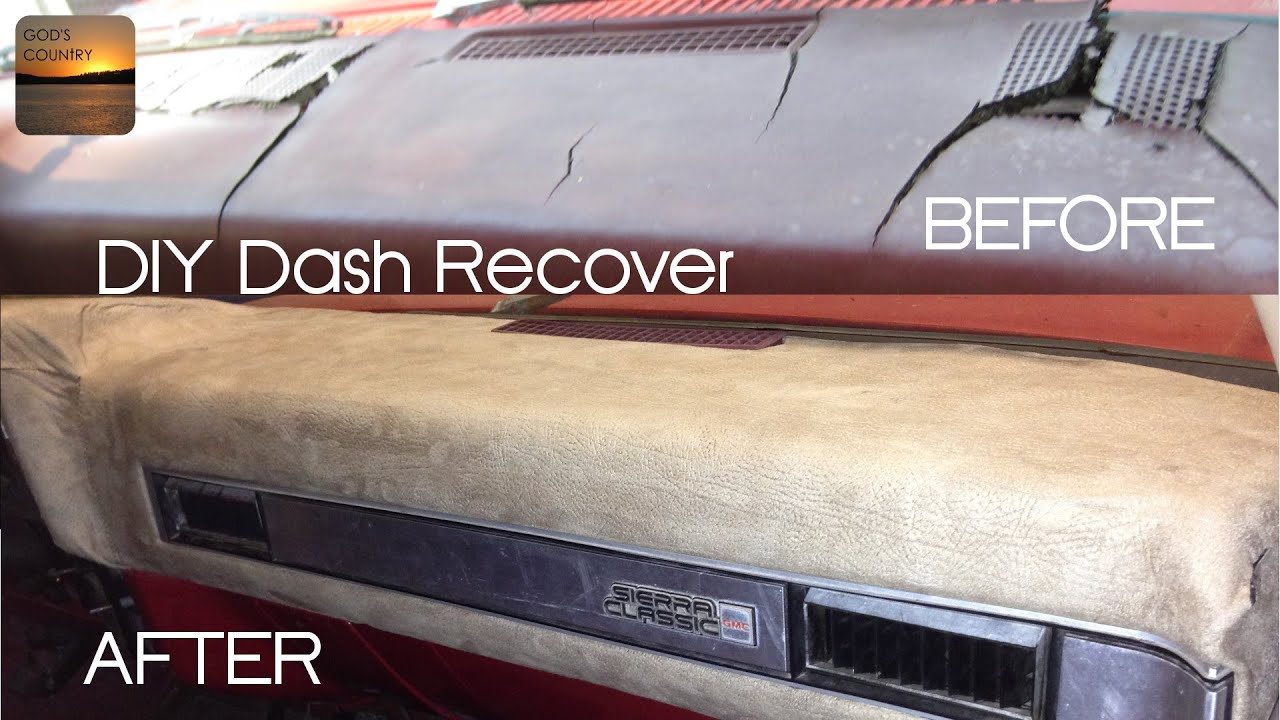 How To Recover Your Dash 1973 1987 Gm Truck Youtube