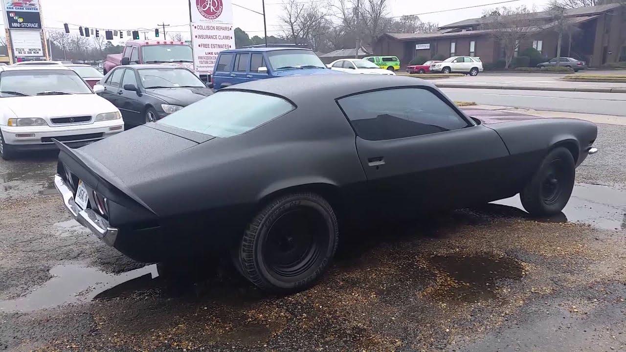 How Do You Paint A Car Flat Black