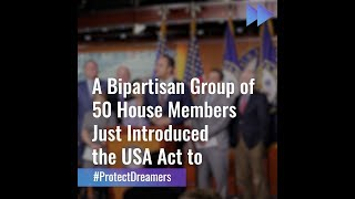 Breaking: Bipartisan Group CaĮls on Congress to Protect Dreamers