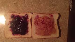 Asmr : Calvert Eating A Peanut Butter And Jelly Sandwich
