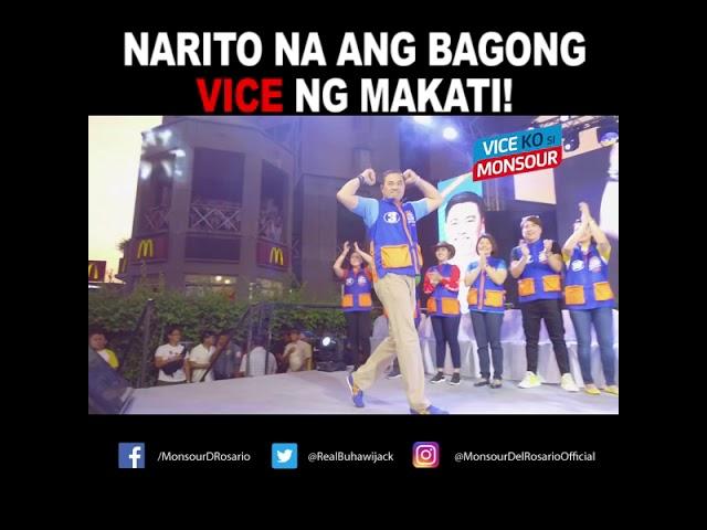 Narito na ang bagong Vice Mayor ng Makati!
