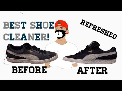 Best Shoe Cleaner Out There!! Cleaning Suede Shoes