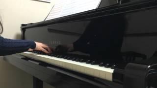 明日を鳴らせ アニメ FAIRY TAIL Op 22 シシド カフカ Piano Solo