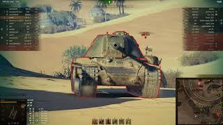 Т-54 перший зразок, Піщана ріка, Зустрічний бій