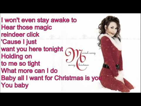 Mariah Carey All I Want For Christmas Is You Testo Youtube