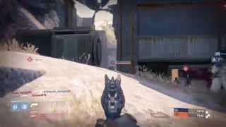 Destiny Crucible - IRON BANNER CONTROL on Exodus Blue - Rushing B From Rightside