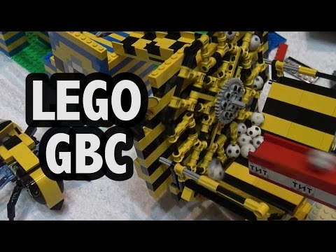 LEGO Great Ball Contraption | Brickworld Fort Wayne 2016