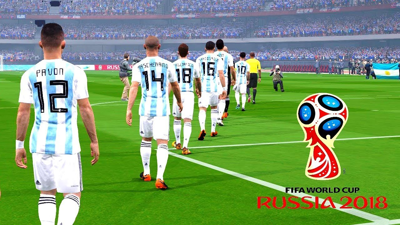 huge discount 2811a 656d0 Argentina vs Iceland | FIFA World Cup Russia 2018 | Gameplay