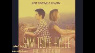 Just Give Me A Reason - Pink ft Nate Ruess (Sam Tsui & Kylee Cover) edit by:Dexhillkim