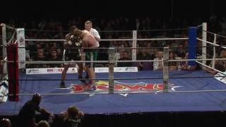 DENTON VASSELL vs EDVINAS PUPLAUSKAS - BBTV - Black Flash Promotions 29-7-17