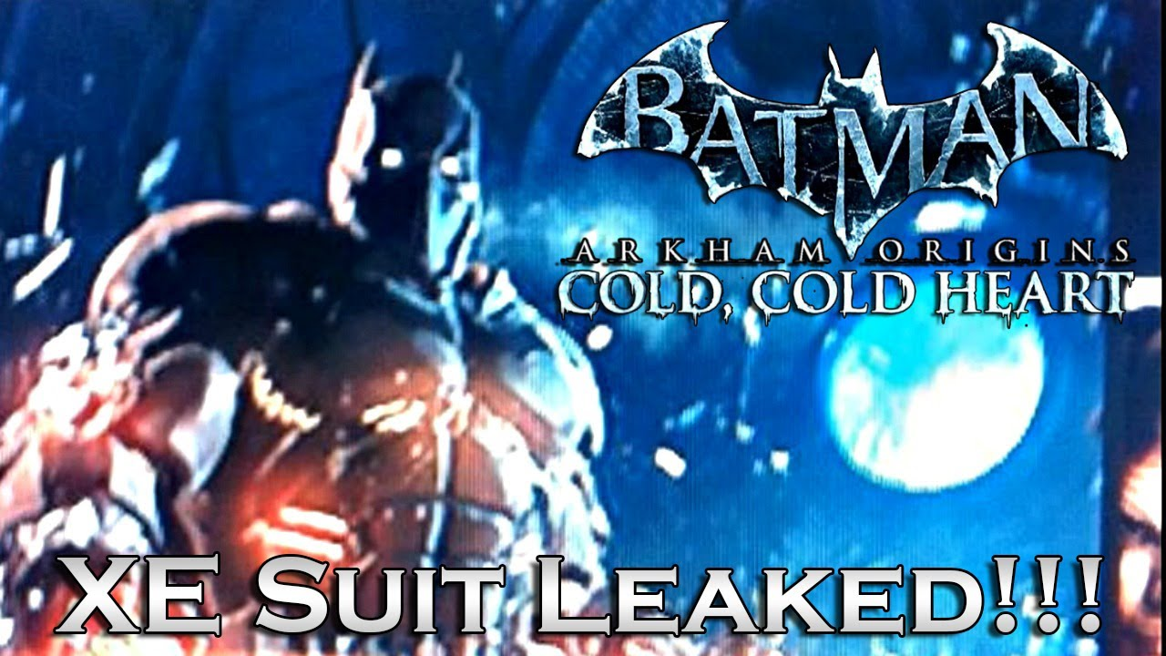 Batman Arkham Origins Cold Heart DLC New Batsuit Leaked