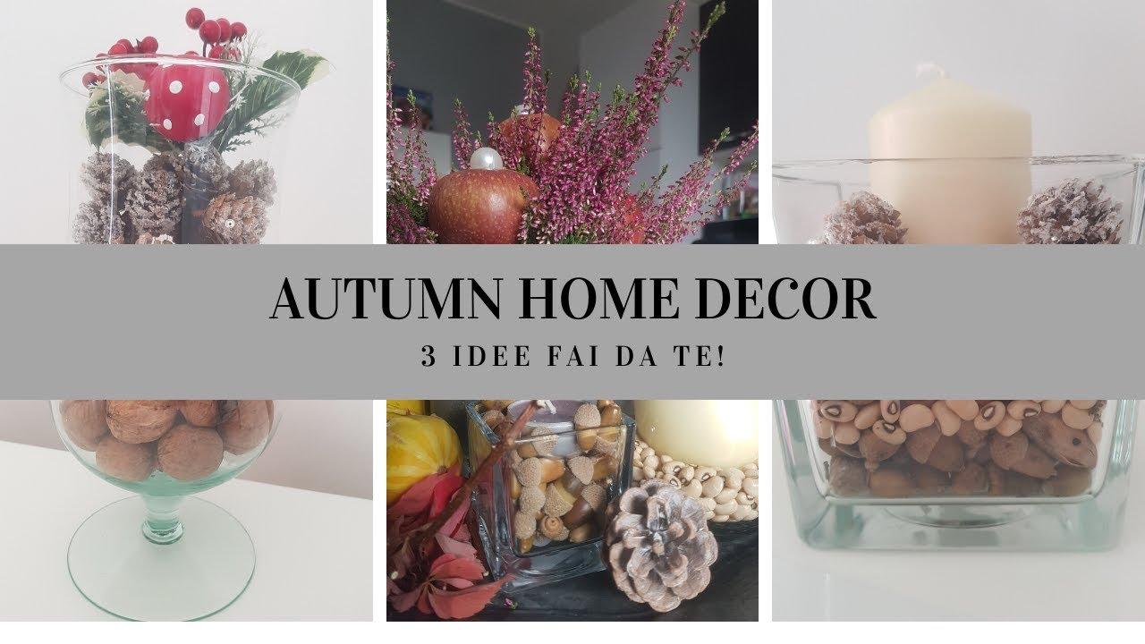 Interior Design Fai Da Te #diy autumn #home #decor // decorazioni autunnali fai-da-te