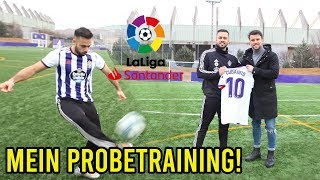 Mein Probetraining bei La Liga Club Real Valladolid!