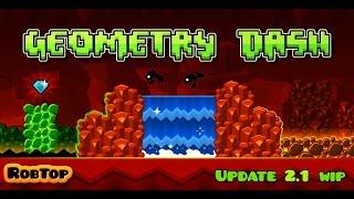 Jugando Geometry Dash 2.1