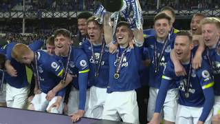 Everton U23s celebrate Premier League 2 title