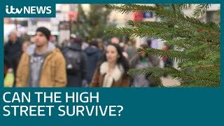With a slump in Christmas shopping can the high street survive? | ITV News