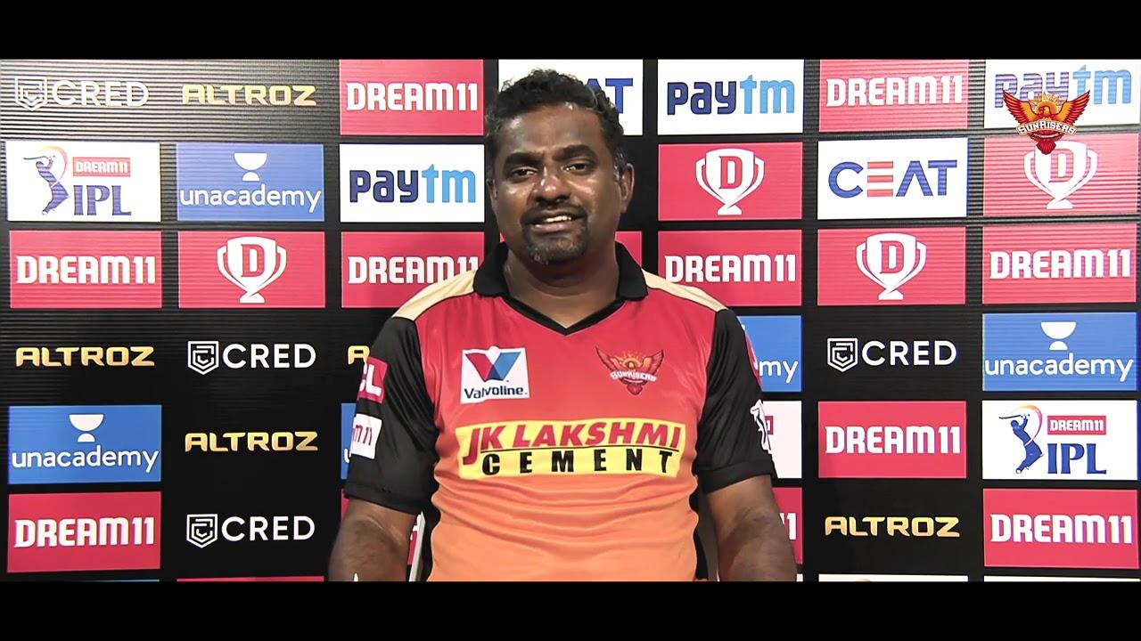 SRHvKKR   Press conference   IPL2020