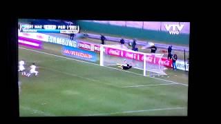 Gol del chino clásico noviembre 2014 tiro libre!!