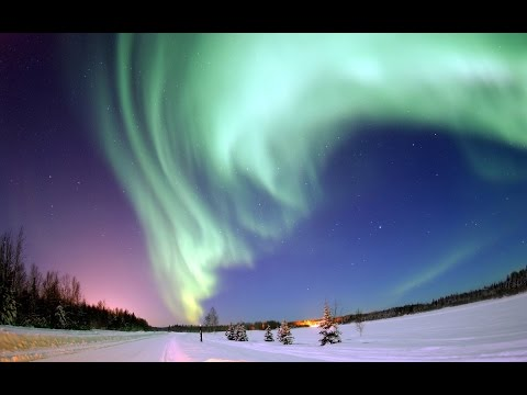 Polar Nights & Northern Lights. Natural wonders and life  in