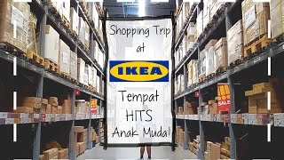 Shopping Trip (Vlog) @ IKEA Indonesia, Alam Sutera / Swedish meatball, food, foto hits instagram