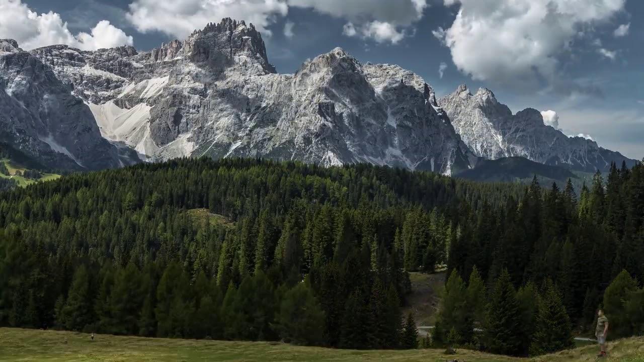 Доломитовые Альпы  Невероятная красота севера Италии и красивая спокойная музыка 4