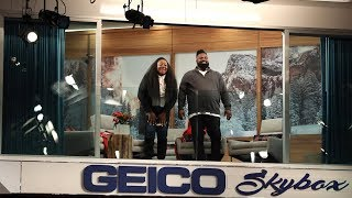Ellen Helped Spice Up These GEICO Skybox Winners' Marriage