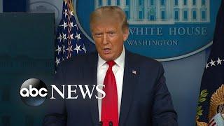 President Trump defends downplaying COVID-19: 'I didn't lie'