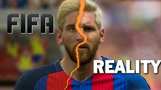 FIFA vs. REALITY (famous players in FIFA vs Real life)