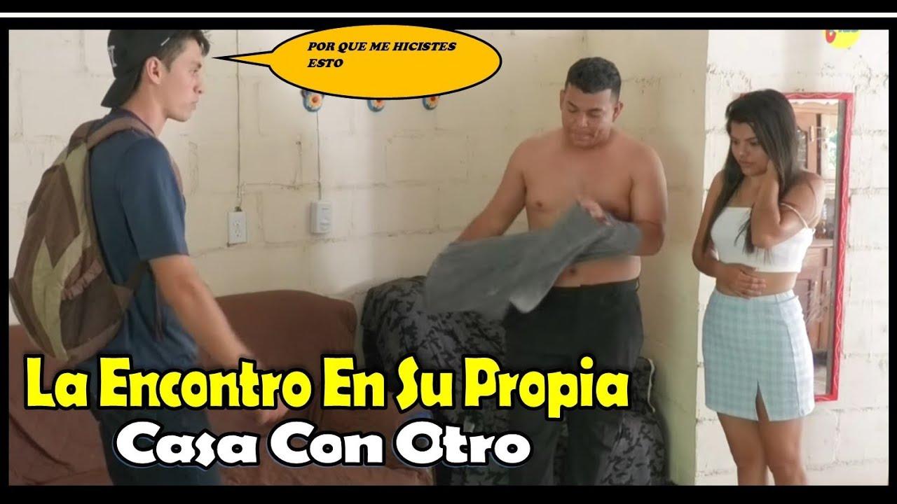 -La Encontró Con Otro Hombre En Su Propia Casa- |- I found her with another in her own home-