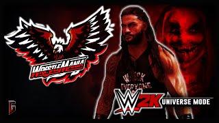 "Roman Reigns enters The Fiend's World at WrestleMania In ""Firefly Mayhem"" (WWE 2K Universe Promo)"