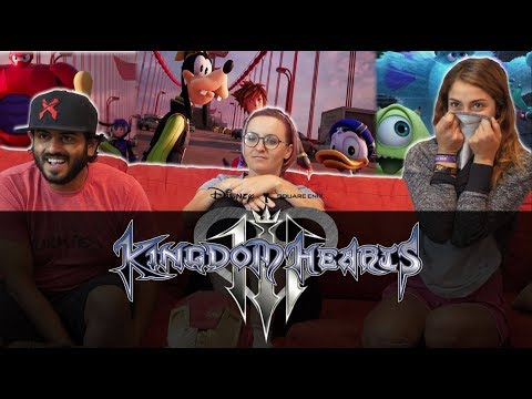 KINGDOM HEARTS III – Big Hero 6 Trailer (Closed Captions) - Group Reaction