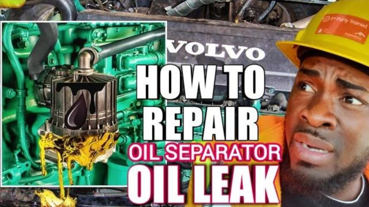 How To Clean   Replace Volvo D13 Crankcase Oil Separator Seal Kit