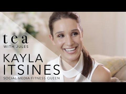 Tea With Jules - fitness sensation Kayla Itsines chats to Jules Sebastian