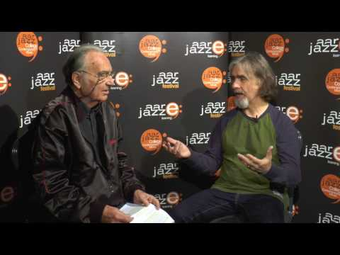 Interview with Dean Brown at the Jazzaar Lounge 2017