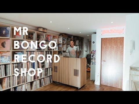 Inside Mr Bongo's new record shop
