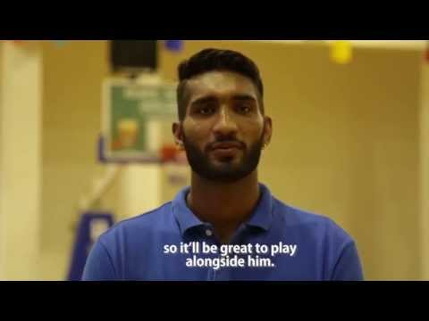 Indian basketball star Amritpal Singh on playing in Japan