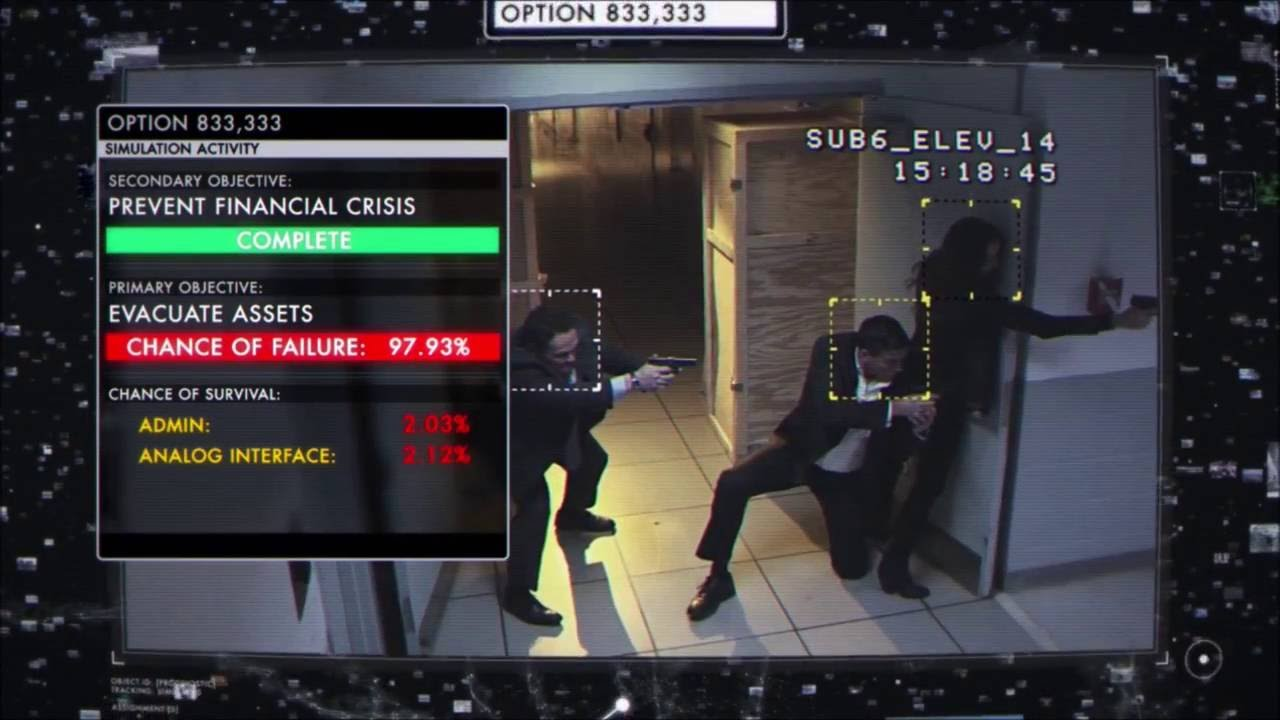 Computer identifying strategic situational outcomes (clip from person of interest)