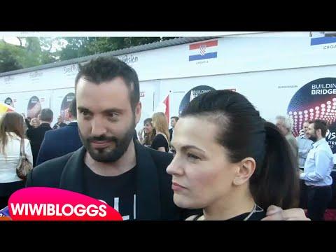 Eurovision 2015 red carpet: Marta & Vaclav (Czech Republic) interview | wiwibloggs