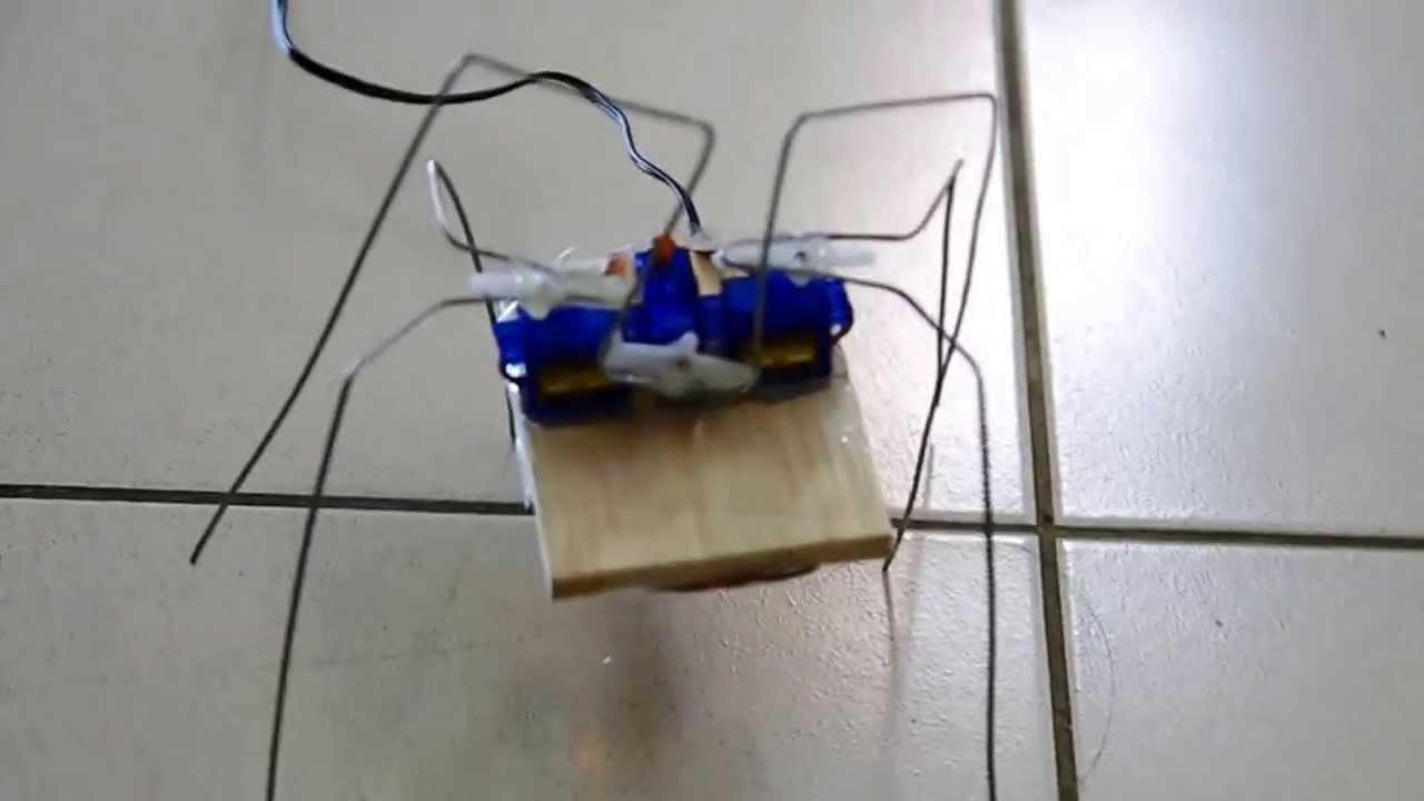 Arduino bug robot youtube