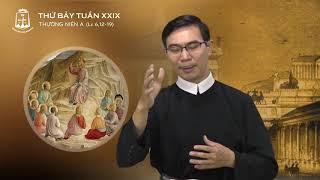 Thứ Bảy Tuần XXIX TN, T.Simon và T.Giuđa, Tông Đồ - Antôn Nguyễn Văn Dũng CSsR 28/10/2017
